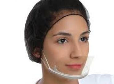 Clear face mask Image