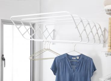 5146 Duplex expandable wallmounted drying rack Image