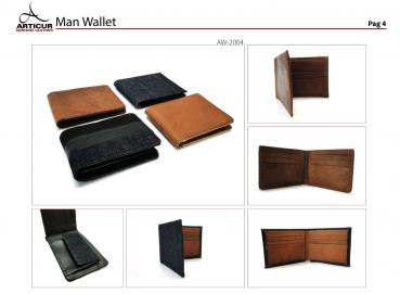 Leather Wallets in leather or canvas Image