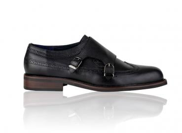 ZAPATOS HOMBRE MONKS NEGRO Image