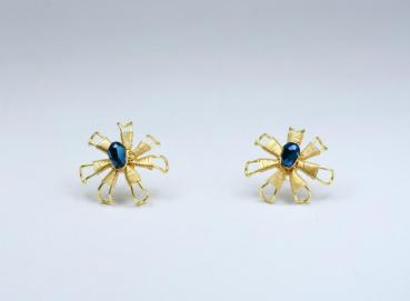 Murano glass stud earrings Image