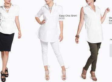 Maternity and nursing shirts and blouses Image
