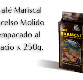 ROASTED COFFEE (100% COLOMBIAN EXCELSO) AND SOLUBLE COFFEE