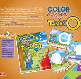 Color forma y tamaño
