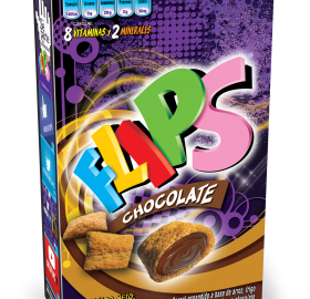 CEREAL FLIPS CHOCOLATE 220GR