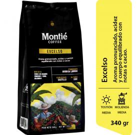 EXCELSO COFFEE  - MONTIE COFFEE - SMALL SHIPMENTS FROM 24 UNITS