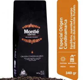 CUNDINAMARCA ORIGIN - MONTIE COFFEE - SMALL SHIPMENTS FROM 24 UNITS