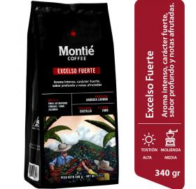 STRONG EXCELSO - MONTIE COFFEE - SMALL SHIPMENTS FROM 24 UNITS