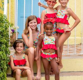 Agüita swimwear for girls