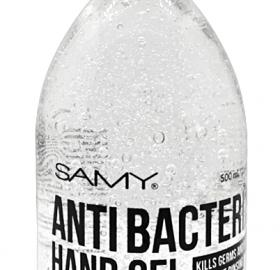 GEL ANTIBACTERIAL CLEAR SAMY x 500ML