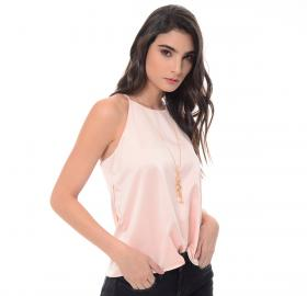 Women's pink blouse-1316
