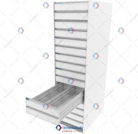 8 Drawer Storage Column