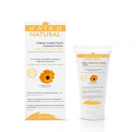 MOISTURIZING CREAM, FACIAL CARE WITH UV FILTERS (50g) With Calendula Extract, UVA and UVB Filters, Aloe Vera, Elastin and Collag