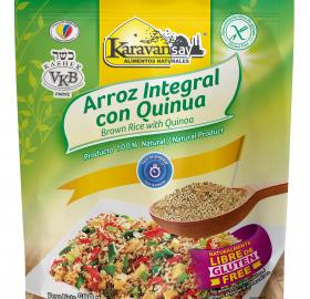 Brown rice with Quinoa