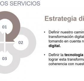 Estrategia en transformación digital