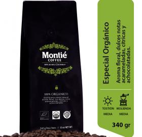 ORGANIC COFFEE - MONTIE COFFEE - SMALL SHIPMENTS FROM 24 UNITS