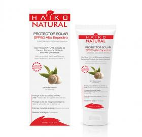 SUNSCREEN SPF60  (80g) With UVA and UVB Filters, Snail Slime and Green Tea Extracts, Aloe Vera and Vitamin E  �