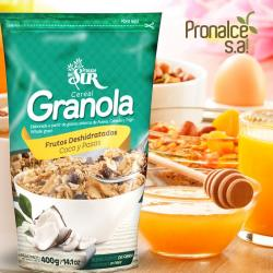 Granola Coconut and raisins